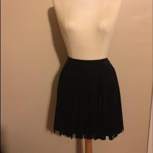 NWT BB Dakota fringe mini skirt